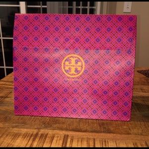 Tory Burch: 2 Gift and 2Dust Bags, 2 shoeboxes.
